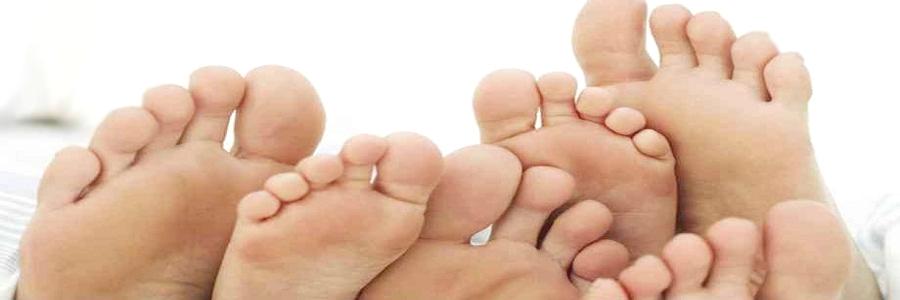 Cuidados com os pés